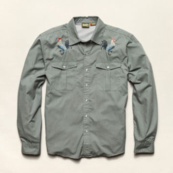 Howler Brothers Gaucho Snapshirt - Rooster, Men's Shirts