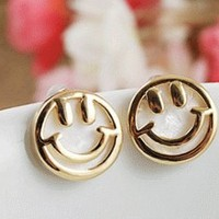 Smiley Face Fashion Earrings | LilyFair Jewelry