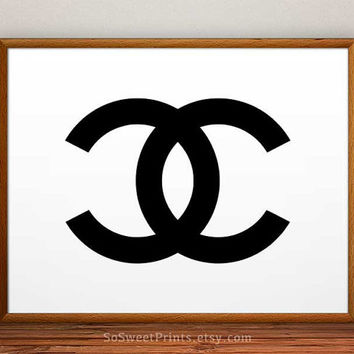 Chanel art poster, Chanel art wall, Chanel Poster, Chanel Print, Chanel decor, Coco Chanel wall, 8x10, 11x14, 13x19, 16x20, 17x22