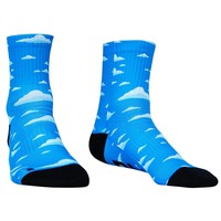 Sky High Half Crew Athletic Socks