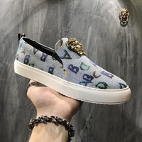 Versace Palazzo Slip On Sneakers Dsu6754 - Best Online Sale