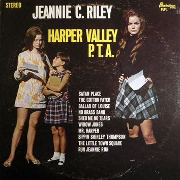 Harper Valley P.T.A. - Jeannie C. Riley, LP (Pre-Owned)