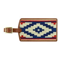 Gaucho Rojo Needlepoint Luggage Tag by Smathers & Branson