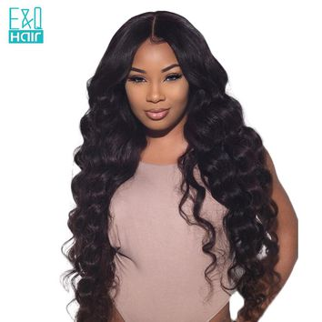 Lace Front - Full Body Brazilian Wave Wig Available in 3 Colors (8 - 26 Inches)