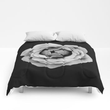One Flower Comforters by DuckyB