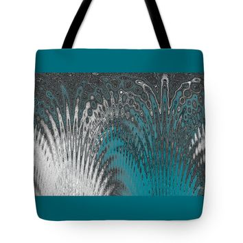 "Water And Ice - Blue Splash Tote Bag for Sale by Ben and Raisa Gertsberg (18"" x 18"")"