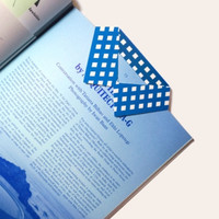 Blue Shirt Bookmark