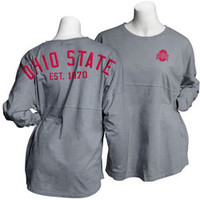 Ohio State Buckeyes Spirit Shirt Graphite 394126