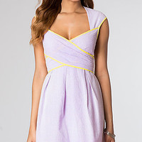 Knee Length Cap Sleeve Dress by Jessica Simpson