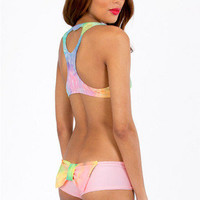 Lolli Swim Take It Easy Bow Bikini Bottom $78