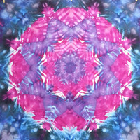 tie dye tapestry wall hanging star pink purple