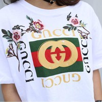 New Gucci Short Sleeve Tee [11853921935]