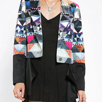 Premonition Crusades Split-Front Blazer - Urban Outfitters