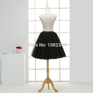 Evening skirt Tulle petticoat Summer tutu Midi Pleated Women Adult skirt dance
