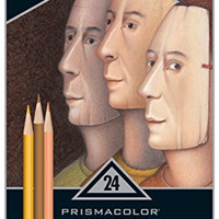 Prismacolor Premier Colored Pencils, Portrait Set, Soft Core, 24-Count
