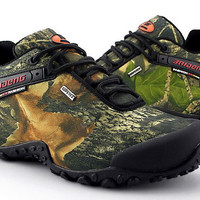 New Outdoor man trekking shoes hiking hunting shoesoutdoor Waterproof Men Boot