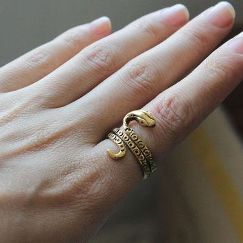 Egyptian Style Serpent Ring