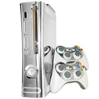 Chrome Mirror Xbox 360 Skin