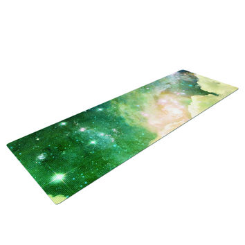 Space Clouds Yoga Mat