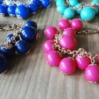 Bobble Bracelets – 8 fashionable colors!  Gold or Silver