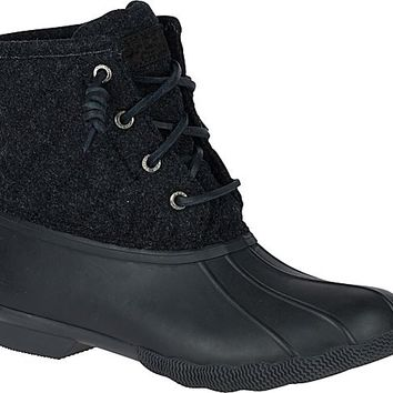 Saltwater Quilted Wool Duck Boot