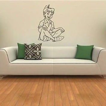 Wall Mural Vinyl Decal Sticker Kids Room Peter Pan S264