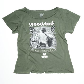 Woodstock Photo Boyfriend Tee