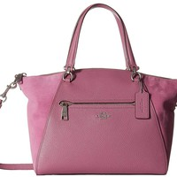 COACH Womens Prairie Satchel in Mixed Leather