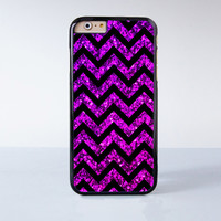 Purple Glitter  Case Cover for Apple iPhone 6 6 Plus 4 4s 5 5s 5c