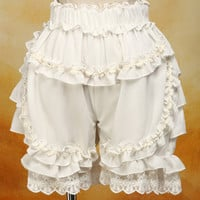 Ivory Bloomer Shorts - Replica c 1850's