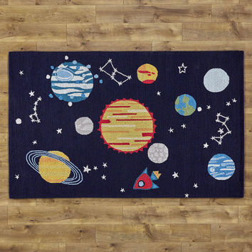 Birch Lane Kids Solar System Rug & Reviews | Wayfair
