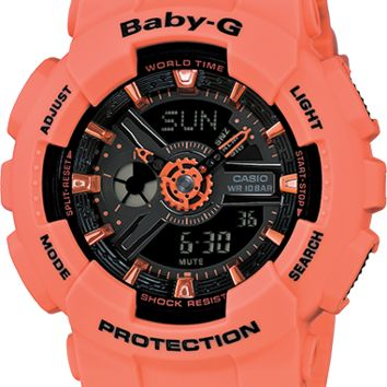 BA111-4A2 - Baby-G Pink - Womens Watches | Casio - Baby-G