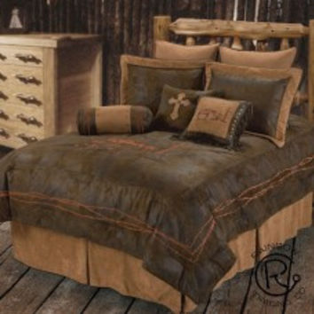 Praying Cowboy 4pc Bed Set