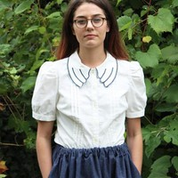 Samantha Pleet Dove Shirt on Garmentory