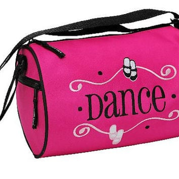 Geared to Dance Duffel Personalized Dance Bag Recital Ballet Bag  Birthday Gift Christmas Gift