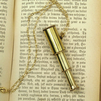 Telescope Necklace