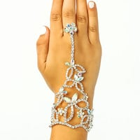 The-Jewels-Hand-Bracelet SILVER - GoJane.com