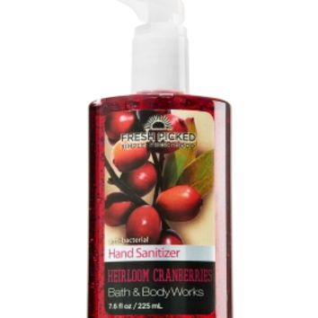 Fresh Picked Heirloom Cranberries Sanitizing Hand Gel   - Anti-Bacterial - Bath & Body Works