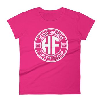 Women's Hot Pink Heyday Seal short sleeve t-shirt