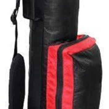 "RJ Sports 2017 Sunday 6"" Golf Bag - Black/Red"