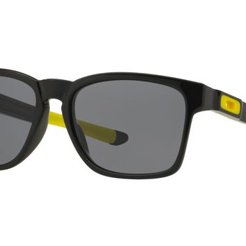 Authentic Oakley CATALYST VALENTINO ROSSI Polished Black Sunglasses OO9272-17
