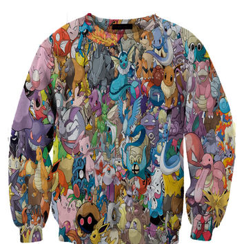 Pokemon 3 Fan Art All Over Style Print
