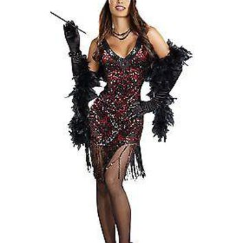 Womens Dames Like Us Flapper Costume