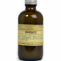 PORTLAND GENERAL STORE WHISKEY AFTERSHAVE SPLASH