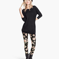 Jersey Leggings - from H&M