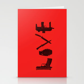 LOVE - Bloody Valentine Stationery Cards by Catalin Anastase