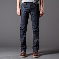 [Dstld Straight] Straight Raw Jeans in Indigo Natural