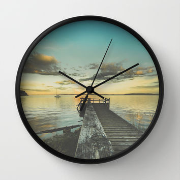 Dating Alice in wonderland Wall Clock by HappyMelvin | Society6