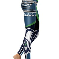 NFL Seattle Seahawks Sports Leggings