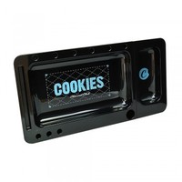 2 PART COOKIES ROLLING TRAY - BLACK